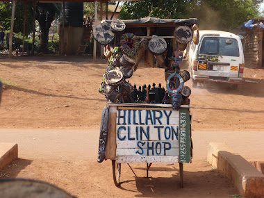 A Vender's Tiop to Hillary Clinton