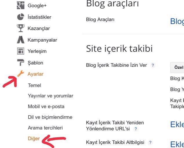Blogger içerik çalınmasını engelleme