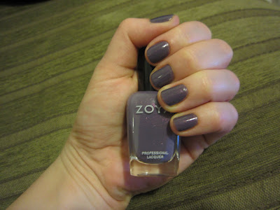 Zoya, Zoya Nail Polish, Zoya True Collection Spring 2012, Zoya Lotus, nail, nails, nail polish, polish, lacquer, nail lacquer, mani, manicure, mani of the week, manicure of the week, Zoya mani, Zoya manicure