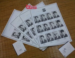 EXO Poster K-Pop Korea giveaway wolf