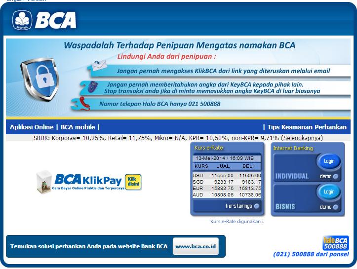 menghindari salah transfer internet banking