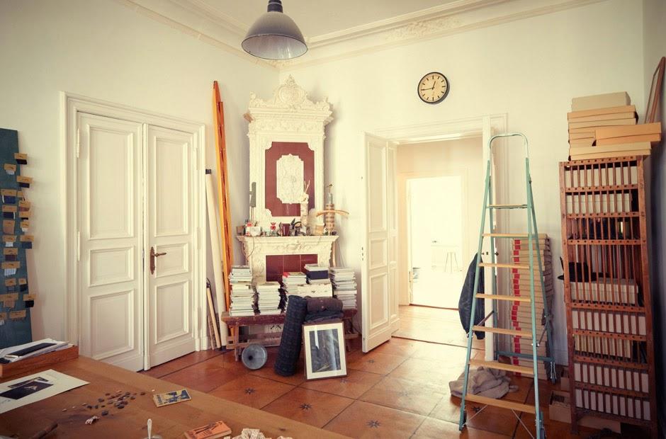 El estudio berlin s de un dise ador de moda etxekodeco - Disenador de espacios ...