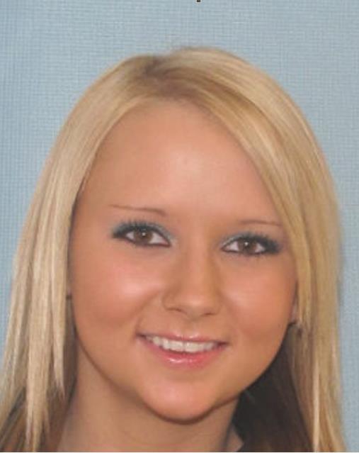 Teen Girl with Blonde Hair Brown Eyes