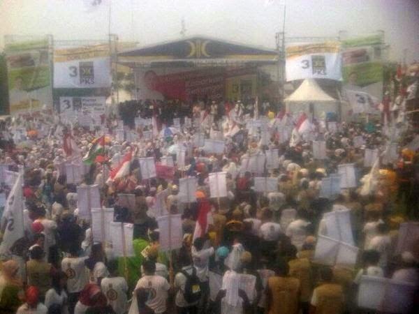 Kampanye PKS di Medan
