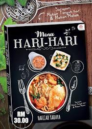 Buku Resipi terbaru (Menu Hari-hari) dari Fiza's Cooking