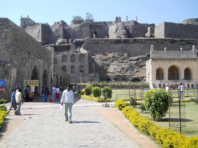 Индия. Хайдарабад. Форт