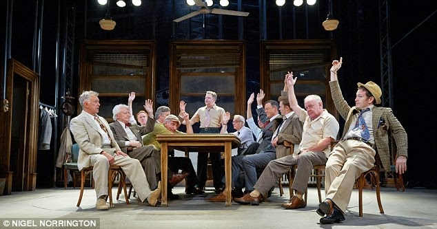 "a review of twelve angry men by reginald rose A production of ""twelve angry men"" at the john w engeman theater at  this  popular work by reginald rose — a 1954 teleplay turned into a."