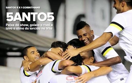 Santos campeonato quase perfeito