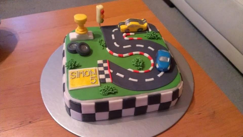 Torta k 5 narodeninám