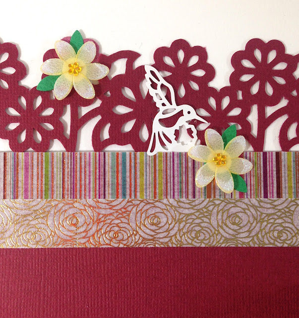 paper placemat border punch lisa fulmer