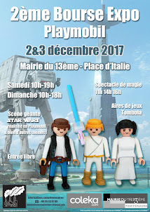 2nd Bourse Expo PLAYMOBIL, Paris 13, 2 et 3 décembre 2017