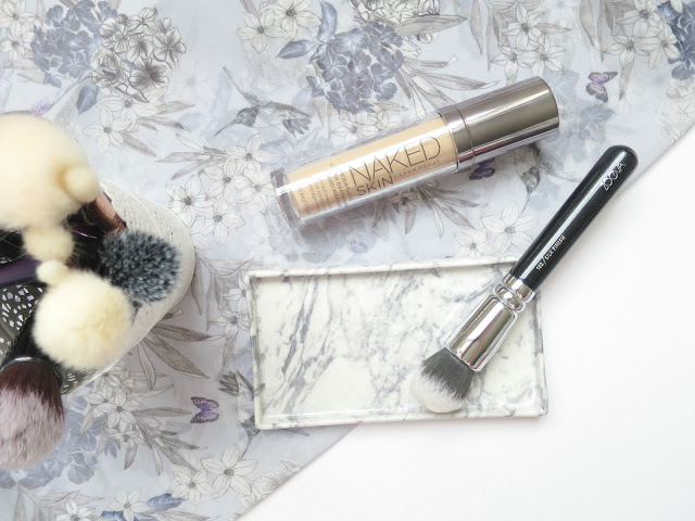Perfect Brush and Beauty Matches  zoeva silk finish brush urban decay naked skin foundation