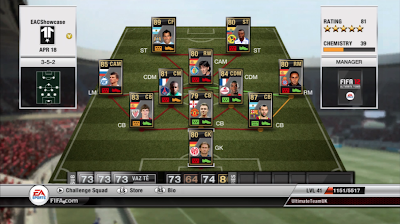 TOTW 32 Players - FIFA 12 Ultimate Team - Team of the Week