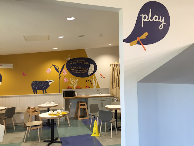 Kids area at Gloucester Services