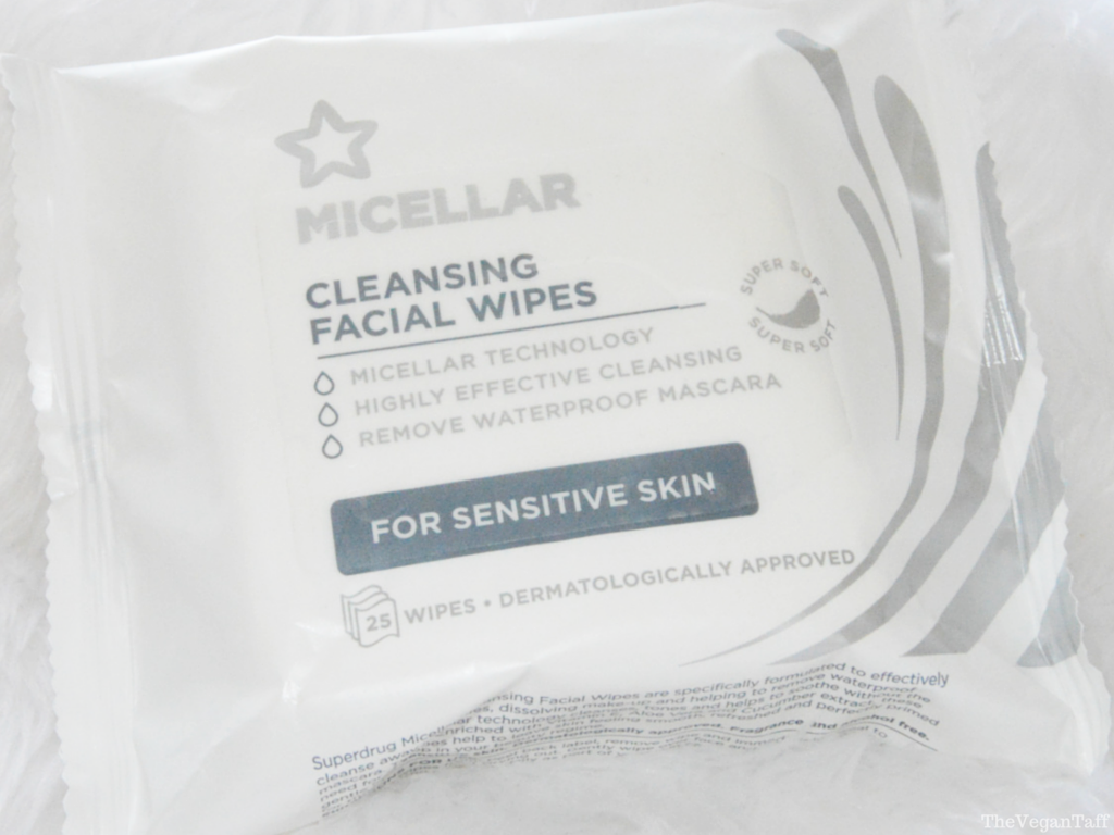 Superdrug Micellar Wipes review