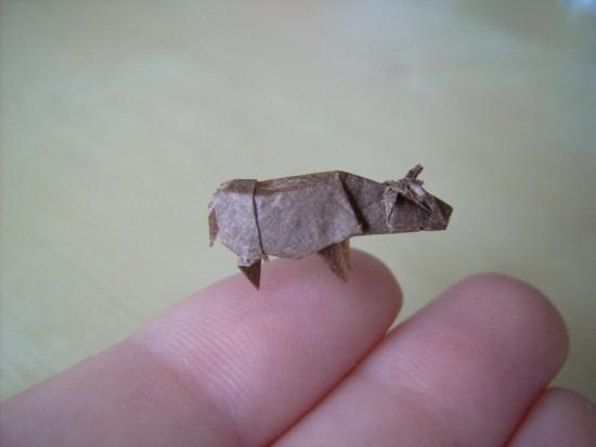 Nano-Origami: Seni Melipat Kertas Dengan Ukuran Super Kecil