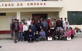 ELABORANDO EL PDC DE CHOCOS