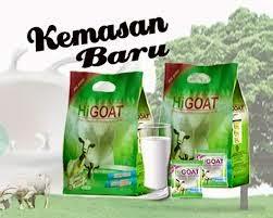 susu kambing higoat original murni tanpa campuran