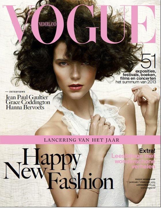 Agnes Nabuurs Vogue Netherlands january 2013