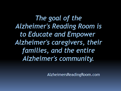 The Goal of the Alzheimer's Reading Room
