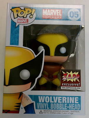 Zapp Comics Exclusive Classic Brown Costume Wolverine Pop! Marvel Vinyl Figure by Funko