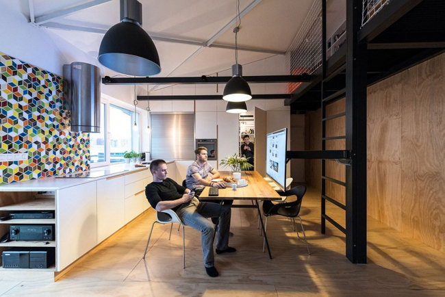 Estilo rustico loft moderno y rustico for Loft rustico