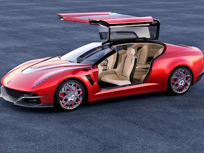 2012 Italdesign Brivido Concept