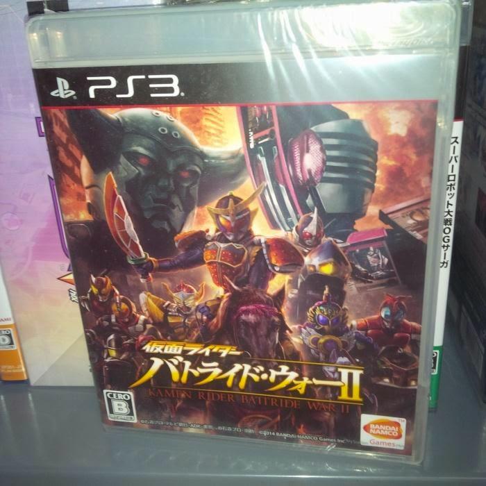 PS3 Kamen Rider: Battride War II - Sale US$58.90 Free shipping in USA