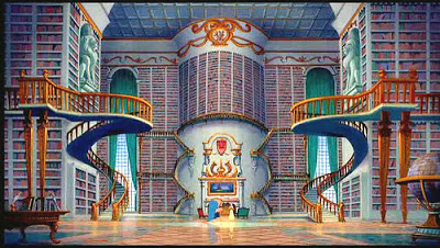 Belle's Library from Beauty And The Beast