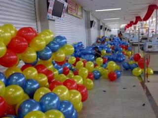 dekorasi balon CARREFOUR XXX