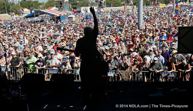 Planning tips for 2015 Jazz Fest, including first and second weekend dates
