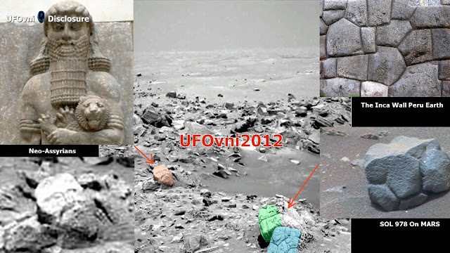 Ancient Aliens sur Mars: visage de Dieu (néo-Assyriens)?