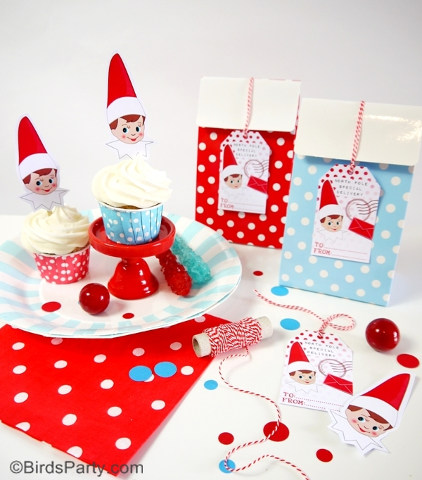 Elf of The Shelf Ideas and Inspired FREE Printables