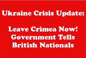 UPDATE ON TRAVEL ADVISE TO CRIMEA: