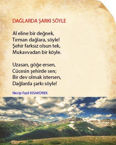 Dağlarda Şarkı Söyle