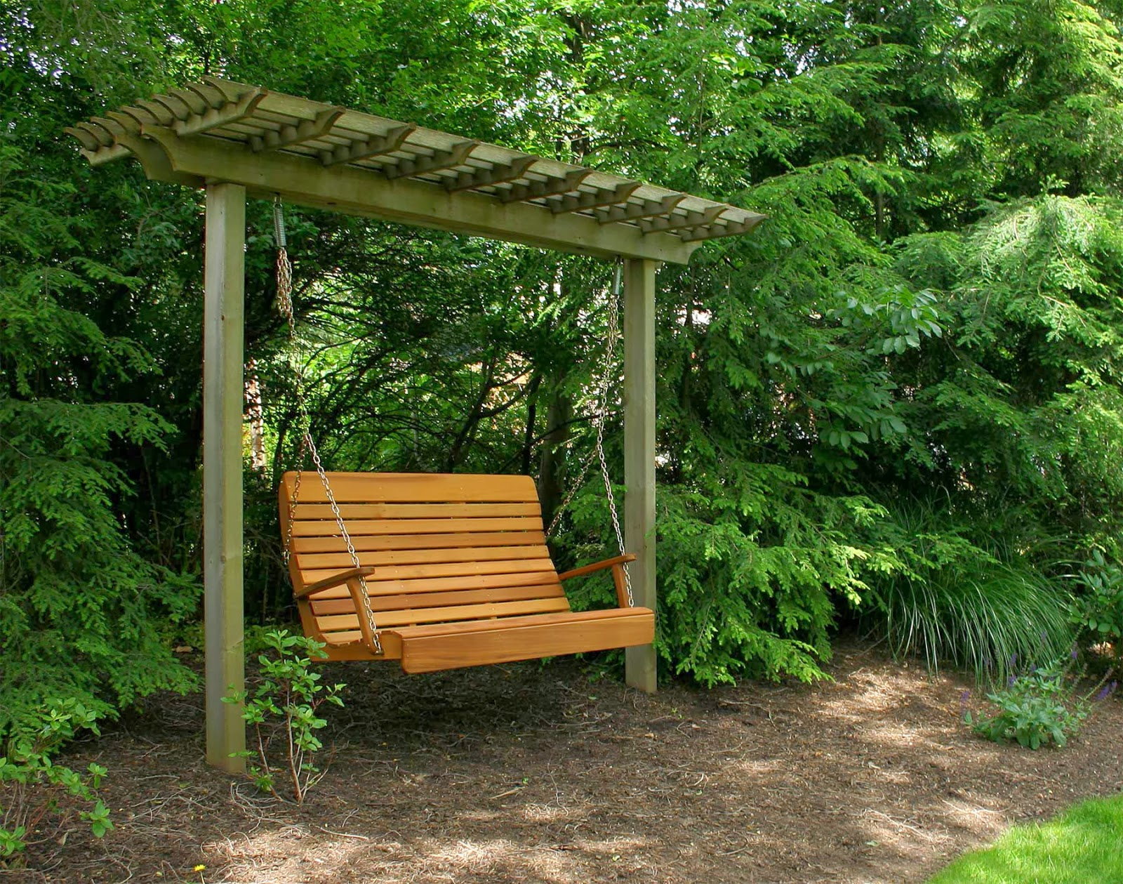 La Maison Boheme Bench Swing For The Garden
