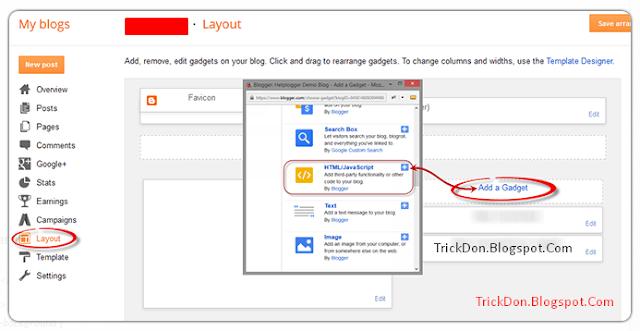 Facebook Popup Like Box Widget For Blogger - TrickDon Blogspot