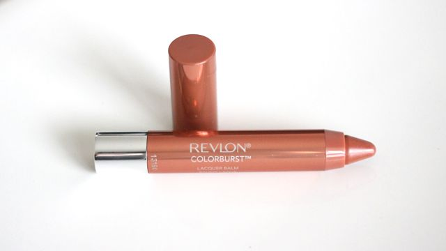 Revlon ColorBurst Lacquer Balm Swatches in Ingenue
