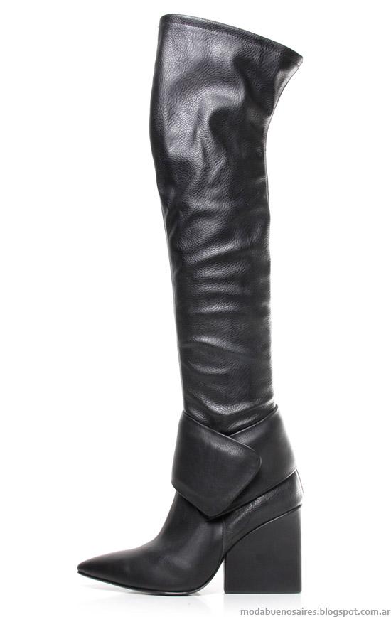 Ricky Sarkany otoño invierno 2014. Moda botas bucaneras Ricky Sarkany otoño invierno 2014.