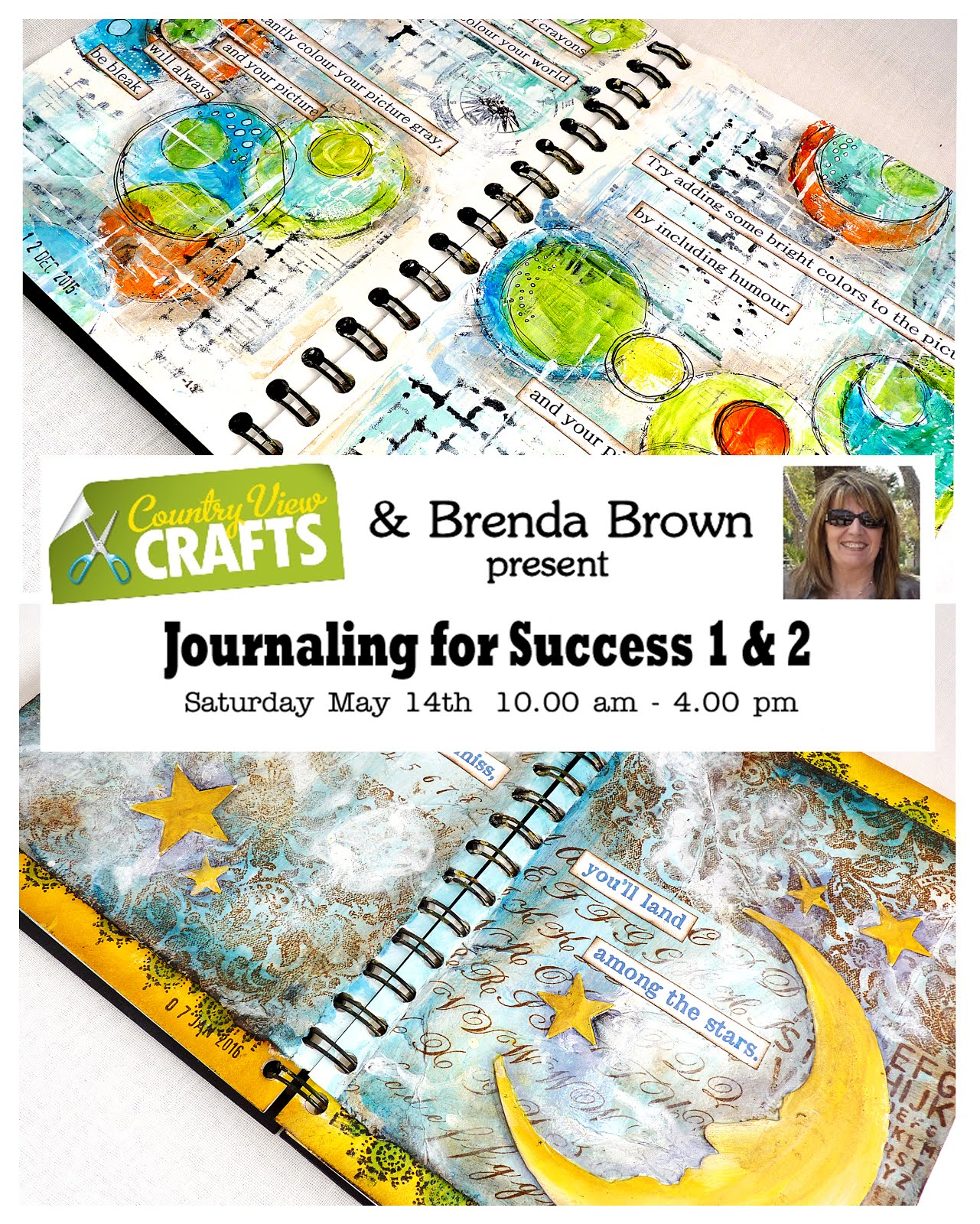 Country View Crafts Journaling for Success 1 & 2 May 14th 2016