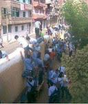 أول يوم في الدراسة (15/9/2012) بإحدى المدارس الإعدادية
