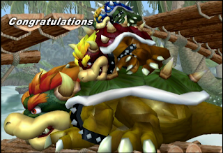bowser melee adventure congratulations