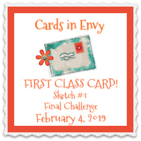 17 February, 2019 First Class Card