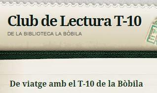 Club de lectura T-10 La Bòbila