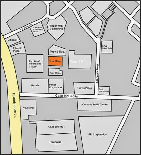Beyond Innovations' Warehouse Sale location