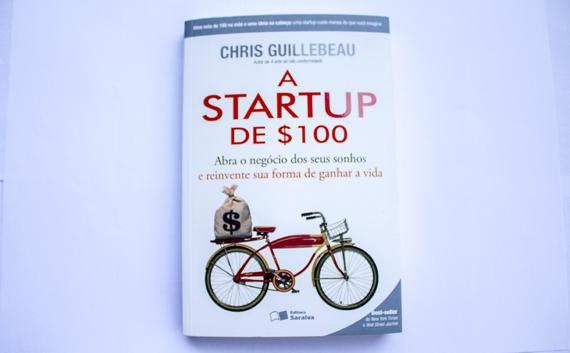 Livro A Startup de $100