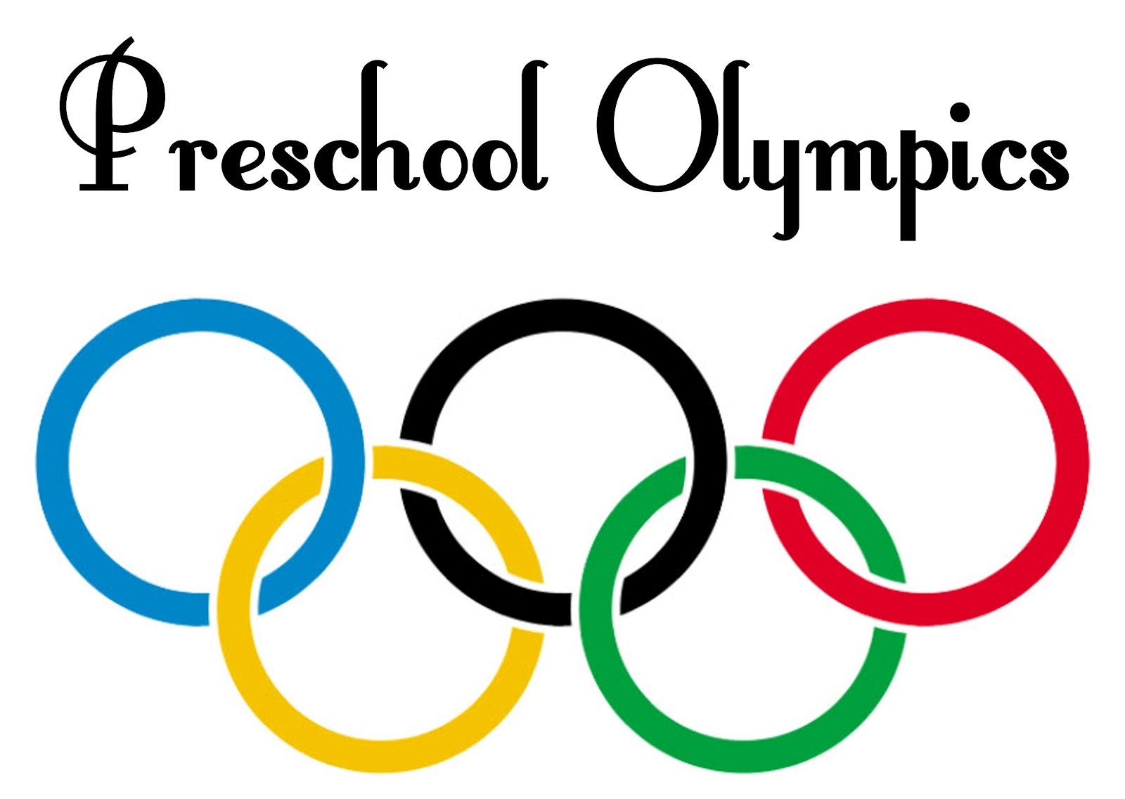 olympics we even hosted our own little preschool olympics last week we