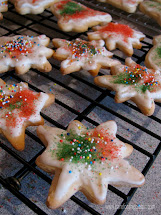 Frosted Christmas Sugar Cookies