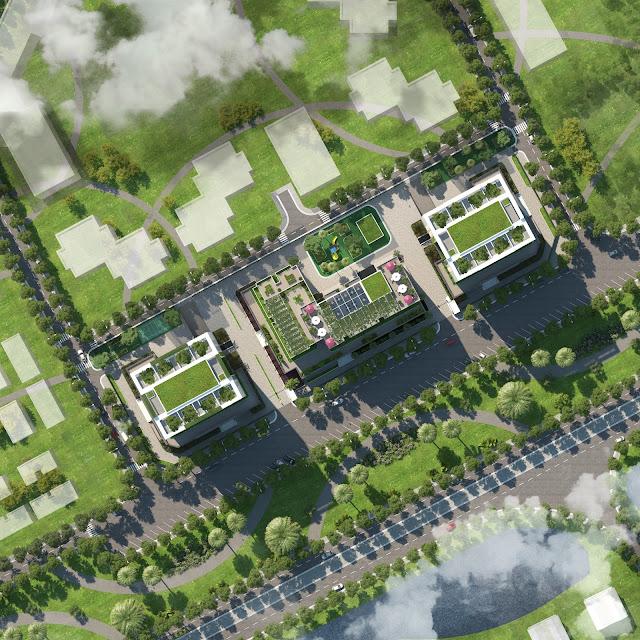 Phối cảnh dự án Valencia Garden