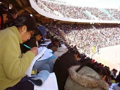 Resultados examen Ascenso de Categoría 2013 en: www.minedu.gob.bo ...